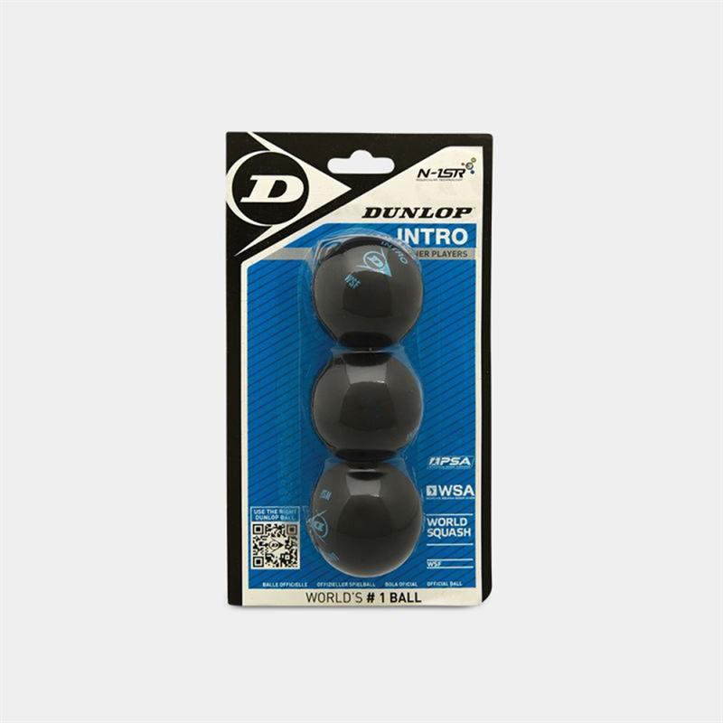 Dunlop - Dunlop INTRO 3-BALL BLISTER